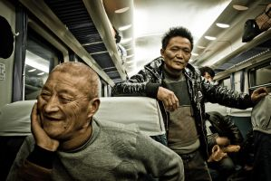 Life in a train by clalepa