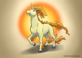 078 Rapidash by EnigmaBerry