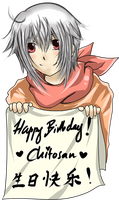 Gift: Chitosan's birthday by Qin-Ying