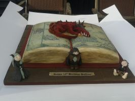 Hobbit cake by 13Vampirella