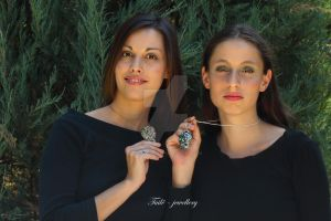 Telperion and Laurelin_2 by Tuile-jewellery