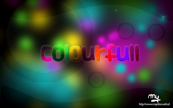 colourfull design by mydina