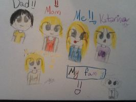 My family :3 by cyancrap