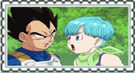 Vegeta and Bulma Stamp by PikachuStar93