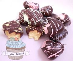 Scented chocolate charms by ilikeshiniesfakery