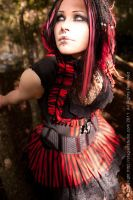 black and red by annaladymoon
