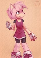 Amy Rose by mechanical-resonance