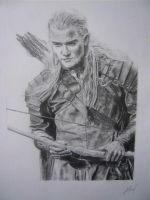 Legolas Drawing by loaded88