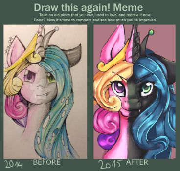 Lets draw this again! 2014/2015 by phnex