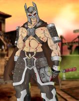 Shao Kahn Alternate by Mawnbak