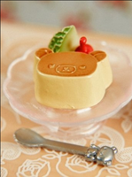 Rilakkuma Pudding by Suuperx