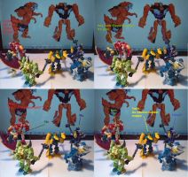 Predacons find out how Cyberverse Grimlock loo by Tim1995