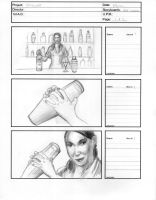 Storyboards for Smirnoff Commercial 1 by Stungeon