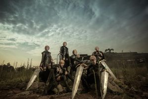 claymore  seven swords by 35ryo