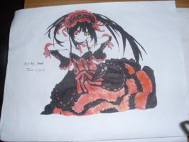 Drawing:Kurumi Tokisaki from Date A Live by MysticalDrawer