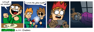 EWCOMIC No.144 - Crackers by eddsworld