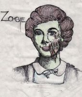 Zombie by MonteyRoo