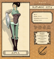 Republic City: Aina by jangloo