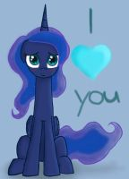 Luna loves you! :) by Kaleysia