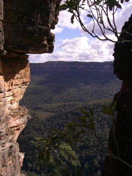 Blue Mountains 03 by VampireSybelle-Stock