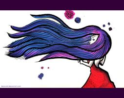 purple in the wind by sara-nmt