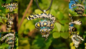 Mandarin Ratsnake Necklace by IllusionTree