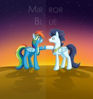 Mirror Blue by CrownePrince