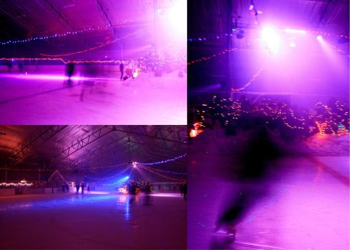 Ice rink triptych by Lady-of-Lakes-End