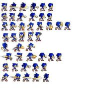 Sonic Melee Punches W/FG -WIP- by ZeSaviour-Spriter