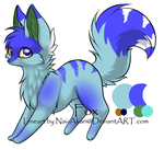 Adoptable Fox .:CLOSED:. by TazerMoon