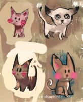 Cats by Sophie2501