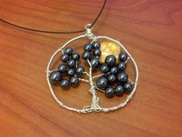 Tree Of Life Dark Bead for sale by FlutterByye