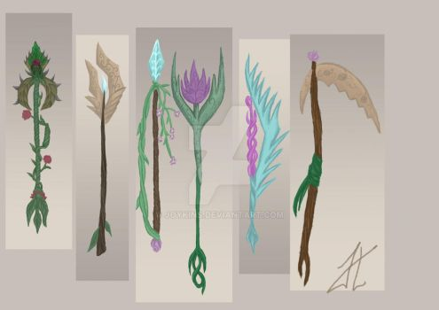 Nature Wepeons Final Concept by Joykins