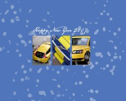 Volvo C 30 snow wallpaper by GODCasual