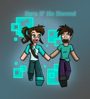 Hero n' his Diamond by MidNight-Vixen