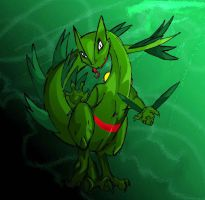 SCEPTILE by knez-iole