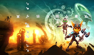 Ratchet and Clank ACiT PS3 by Keen-Eddie