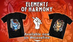 Banner of Elements of Harmony Designs by Ziom05