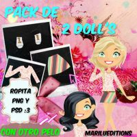 Mi primer pack de doll! by MariluNtvgEditions01