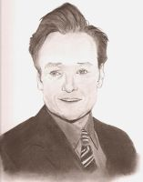 Conan O'Brien 3 by fadedsg