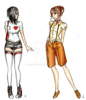 Fashion Design: Casual Part 1 by Rosenpest