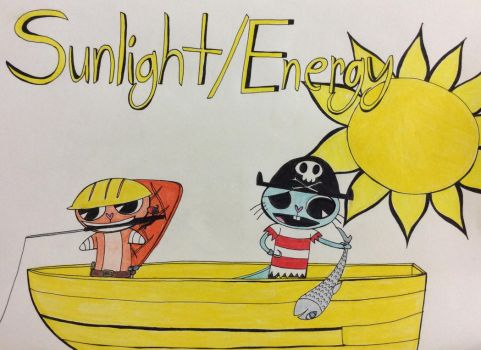 Sunlight/Energy - A Day Out In The Sun by Midnight-Lovestruck