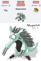 Pokefusion Magneslash by toadking07