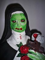 merry christmas nun by onlyontheoutside