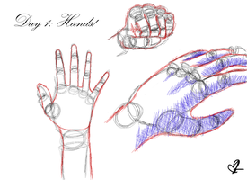 Day 1- Hand Sketches by ImperialMocha