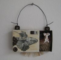 Tiny assemblage: Extinct Fish by bugatha1