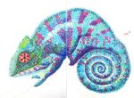 Panther Chameleon Sharpies by starshield
