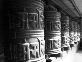 Prayer Wheels by Michel8170