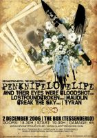 PENKNIFELOVELIFE POSTER DESIGN by AS-I-CRY