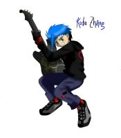 kobu with his guitar by KOAnimation